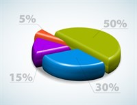 Bigstock Colorful D Pie Chart Graph Wi 13927427